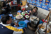 Fresh food at the Morning market, Hanoi, Vietnam