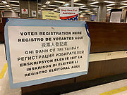 While Massachusetts does not offer same day voter registration, new voters could register to vote for the November election on Primary Day.