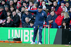 Middlesbrough manager Tony Pulis during the Sky Bet Championship match at The Riverside Stadium, Middlesbrough.