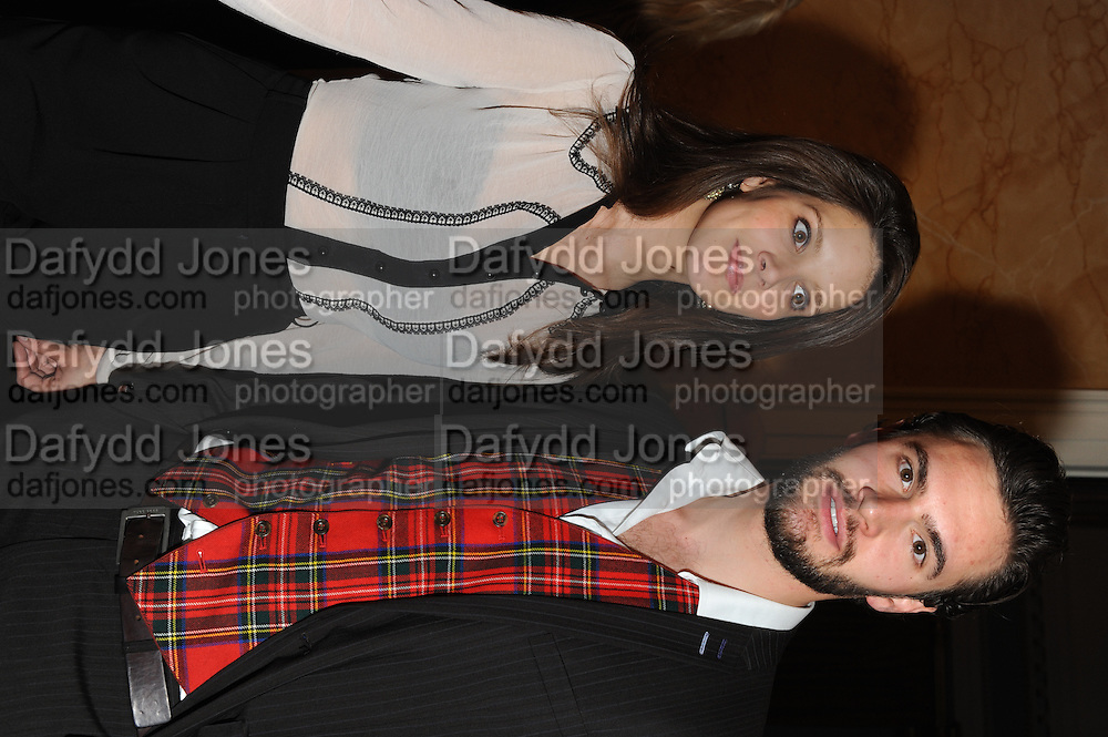 Sonya Cassidy; TOM BATEMAN, Party following the Theatre Royal press night performance of The Lion in Winter , The Institute of Directors. London. 15 November 2011. <br /> <br />  , -DO NOT ARCHIVE-© Copyright Photograph by Dafydd Jones. 248 Clapham Rd. London SW9 0PZ. Tel 0207 820 0771. www.dafjones.com.