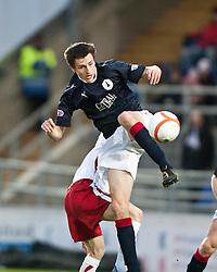 Kieran Duffie..Falkirk 1 v 1 Ross County, 26/12/2011..Pic © Michael Schofield..