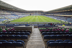March 30, 2019 - Edinburgh, Scotland, United Kingdom - A general view of Murrayfield Stadium during the Heineken Champions Cup Quarter Final match between Edinburgh Rugby and Munster Rugby at Murrayfield Stadium in Edinburgh, Scotland, United Kingdom on March 30, 2019  (Credit Image: © Andrew Surma/NurPhoto via ZUMA Press)