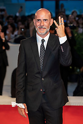 Gianmarco Tognazzi walks the red carpet ahead of The Sisters Brothers screening during the 75th Venice Film Festival at Sala Grande on September 2, 2018 in Venice, Italy. Photo by Marco Piovanotto/ABACAPRESS.COM