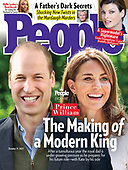 September 29, 2021 - WORLDWIDE: Prince Williams and Duchess of Cambridge Kate Middleton Cover People