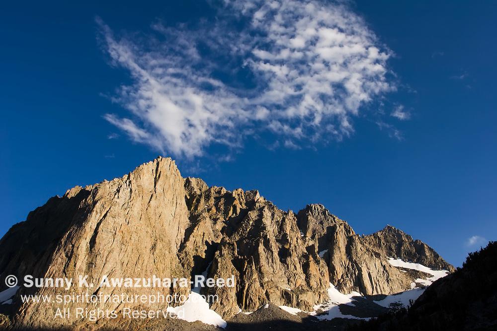 Temple Crag Peak, Clouds