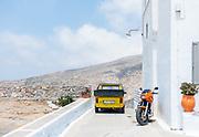 Greece, Amorgos Island, the Chora