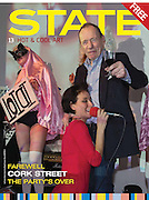 State magazine cover ANTHONY HADEN-GUEST, Closing party Mayor Gallery, Cork St. London. 17 December 2013