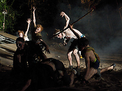 Lord of the Flies<br /> by William Golding <br /> adapted for stage by Nigel Williams<br /> at Regent's Park, Open Air Theatre, London, Great Britain <br /> press photocall<br /> 20th May 2011<br /> <br /> <br /> Alistair Toovey (as Ralph)<br /> <br /> <br /> Photograph by Elliott Franks