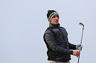 Keith Fitzpatrick (Kinsale) on the 4th tee during Round 3 of The West of Ireland Open Championship in Co. Sligo Golf Club, Rosses Point, Sligo on Saturday 6th April 2019.<br /> Picture:  Thos Caffrey / www.golffile.ie