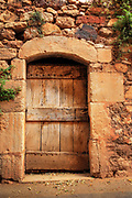 Old door in Provence
