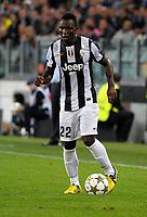 Kwadwo Asamoah Juventus<br /> Torino 02/10/2012 Juventus Stadium<br /> Football Calcio Champions League 2012/2013<br /> Juventus vs Shakhtar Donetsk<br /> Foto Federico Tardito Insidefoto