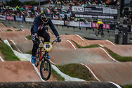 #80 (HERMAN David) USA at the 2016 UCI BMX World Championships in Medellin, Colombia.