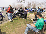 Motorcycle gathering on Sundays on top of Bear Mountain NY