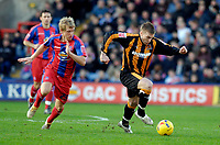 Photo: Alan Crowhurst.<br />Crystal Palace v Hull City. Coca Cola Championship. 20/01/2007. Hull's Stephen McPhee (R) attacks.