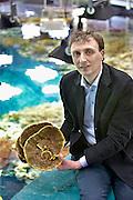 Nederland, Arnhem, 9-4-2013Alex van Hooff, directeur van dierentuin Burgers Zoo bij het koraalbassin.Foto: Flip Franssen/Hollandse Hoogte