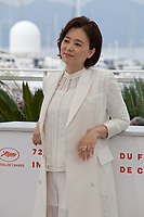 Chang Hyae-Jin at Parasite film photo call at the 72nd Cannes Film Festival, Wednesday 22nd May 2019, Cannes, France. Photo credit: Doreen Kennedy
