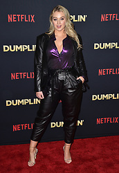 Iskra Lawrence attends the premiere of Netflix's 'Dumplin'' at TCL Chinese 6 Theatres on December 6, 2018 in Los Angeles, CA, USA. Photo by Lionel Hahn/ABACAPRESS.COM