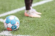 Fussball: 2. Bundesliga, FC St. Pauli - Holstein Kiel, Hamburg, 25.07.2021<br /> Feature, Ball, Derbystar<br /> © Torsten Helmke