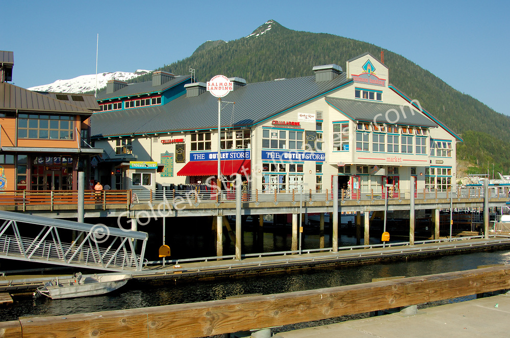 Next to cruise ship pier.