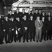 NLD/Huizen/19930123 - Uitreiking diploma's bij de brandweer Huizen