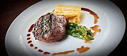 Steak, Asparagus & Fries