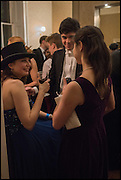 PHILINE ZAMVON, Oxford University Polo club Ball, Blenheim Palace. Woodstock. 6 March 2015