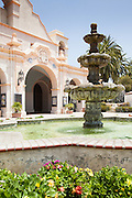 Constitution Fountain at the San Gabriel Mission Playhouse
