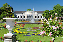 View of Botanic Gardens or Flora in Cologne Germany