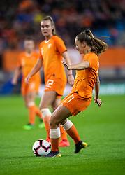 05-04-2019 NED: Netherlands - Mexico, Arnhem<br /> Friendly match in GelreDome Arnhem. Netherlands win 2-0 / Lieke Martens #11 of The Netherlands scores 2-0