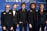 Edison Pop 2019  in de Gashouder Westergasfabriek, Amsterdam.<br /> <br /> Op de foto:  Di-rect -  Jamie Westland (drums), Frans 'Spike' van Zoest (gitaar), Bas van Wageningen (basgitaar), Paul Jan Bakker (gitaar) en Marcel Veenendaal (zang).