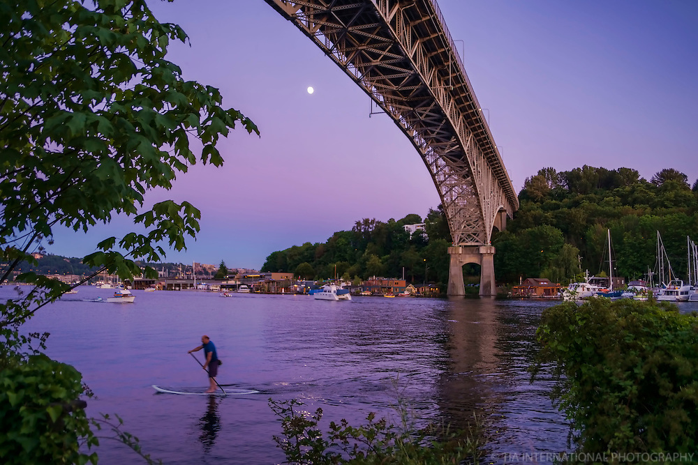 JULY 9th:  Peaceful Path of the Paddleboarder