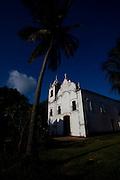Itamaraca_PE, Brasil...Igreja de Nossa Senhora da Conceicao em Vila Velha...Nossa Senhora da Conceicao church in Vila Velha...Foto: LEO DRUMOND / NITRO