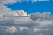 Cloudscape of Cumulus cloud