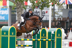Greve Willem, (NED), Carambole <br /> CP International Grand Prix presented by Rolex<br /> Spruce Meadows Masters - Calgary 2015<br /> © Hippo Foto - Dirk Caremans<br /> 13/09/15