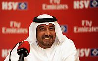 Fotball<br /> Tyskland<br /> Foto: Witters/Digitalsport<br /> NORWAY ONLY<br /> <br /> 04.01.2009<br /> <br /> Hoheit Sjeik Ahmed bin Saeed Al-Maktoum<br /> Pressekonferenz zu Vertragsverlaengerung mit Emirates<br /> Fussball Trainingslager HSV in Dubai