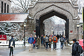 Snow on Campus March 2016