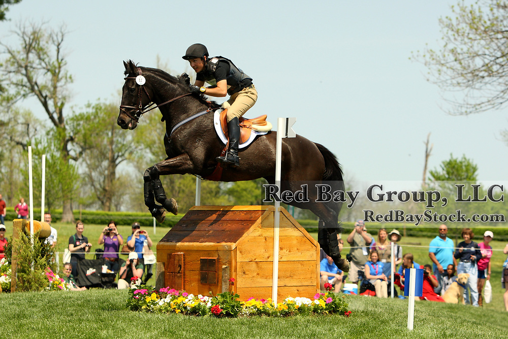 Hamish Cargill and Sandhill Tiger at the 2011 Rolex Kentucky Three-Day Event in Lexington, KY.