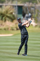 March 21, 2018 - Austin, TX, U.S. - AUSTIN, TX - MARCH 21: Thomas Pieters hits a shot from the fairway during the First Round of the WGC-Dell Technologies Match Play on March 21, 2018 at Austin Country Club in Austin, TX. (Photo by Daniel Dunn/Icon Sportswire) (Credit Image: © Daniel Dunn/Icon SMI via ZUMA Press)