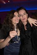 PAULA RAE GIBSON; BELINDA BAMBER;  Sotheby's Erotic sale cocktail party, Sothebys. London. 14 February 2018