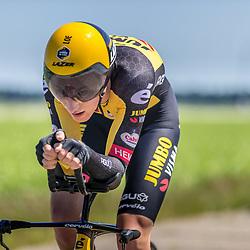 EMMEN (NED) June 16: <br /> CYCLING <br /> Dutch Nationals Time Trail men U23