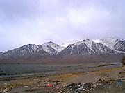 Tibet mountain range