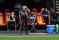 Football - 2019 / 2020 Premier League - Watford vs. Leicester City<br /> <br /> Watford's Head Coach Nigel Pearson, at Vicarage Road.<br /> <br /> COLORSPORT/ASHLEY WESTERN
