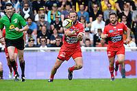 Frederic MICHALAK - 25.04.2015 - La Rochelle / Toulon - 23eme journee de Top 14<br />Photo : Caroline Blumberg / Icon Sport