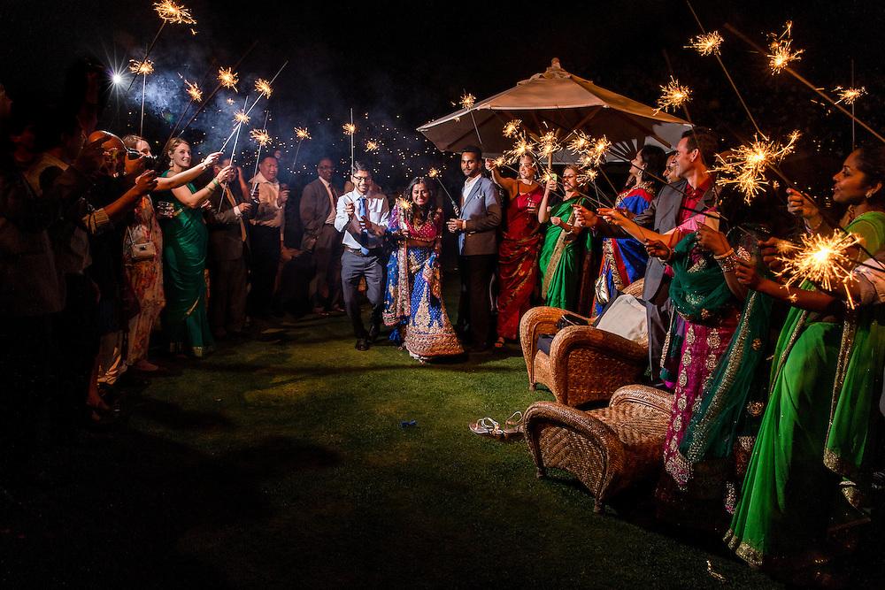 Garden Pavilion Wedding