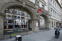 14oz boutique on Neue Schonhauser street in trendy fashionable district of Mitte in Berlin Germany