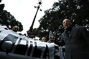 Funerali dell'esponente politico della destra romana Teodoro Buontempo <br /> Roma - Piazza Venezia 26 aprile 2013. Matteo Ciambelli / OneShot