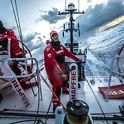 Leg 02, Lisbon to Cape Town, day 03, on board MAPFRE. Photo by Ugo Fonolla/Volvo Ocean Race. 07 November, 2017