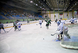 Arena during friendly ice hockey match between HDD Telemach Olimpija and KHL Medvescak (CRO) before new season 2013/14, on August 8, 2013 in Ice Arena Tabor, Maribor, Slovenia. (Photo by Vid Ponikvar / Sportida.com)