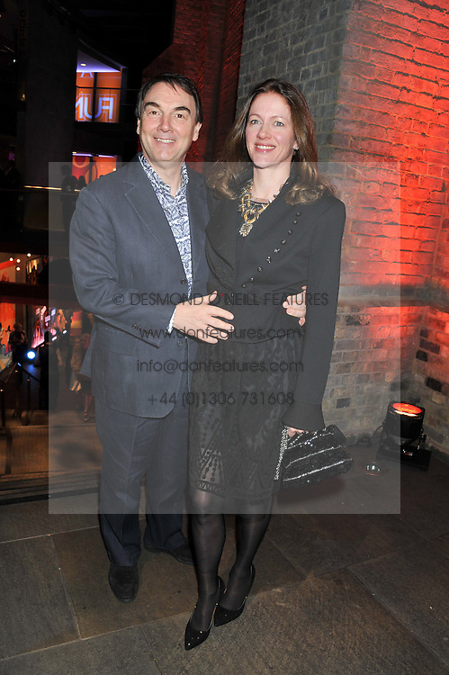 ALAN PARKER Chairman of Save the Children UK and his wife JANE at A Night of Funk & Soul in aid of Save The Children held at The Roundhouse, Camden, London on 20th March 2013.