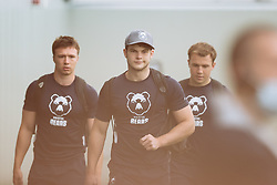 Jack Bates looks on as Bristol Bears start to use their new almost completed Training centre - Rogan/JMP - 08/07/2020 - RUGBY UNION - Beggar Bush Lane - Bristol, England.